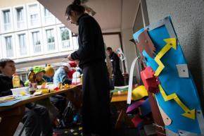 Römertag 2015: Basteln