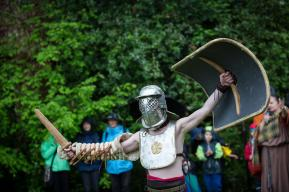 Römertag 2015: Gladiatorenkämpfe